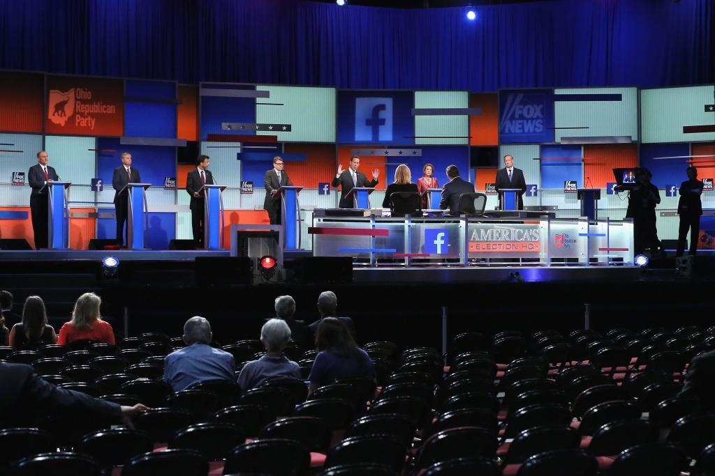Video: Fox News Republican primary debates: Candidates face
