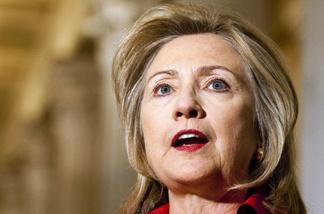 Secretary of State Hillary Rodham Clinton.