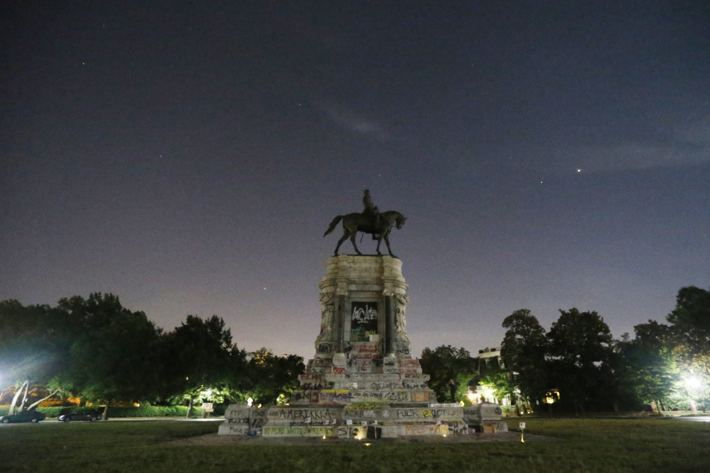 Virginia Gov. Ralph Northam has ordered the removal of a statue of Confederate Gen. Robert E. Lee on Monument Avenue in Richmond, Va.