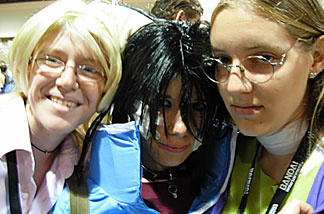 These girls from the Inland Empire dressed as some of their favorite characters for AnimeExpo 2007. (Credit: John Rabe)