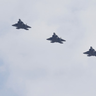 U.S. military has deployed four F-22 stealth fighter jets to the Korean Peninsula as another response to North Korea's nuclear and missile threats.