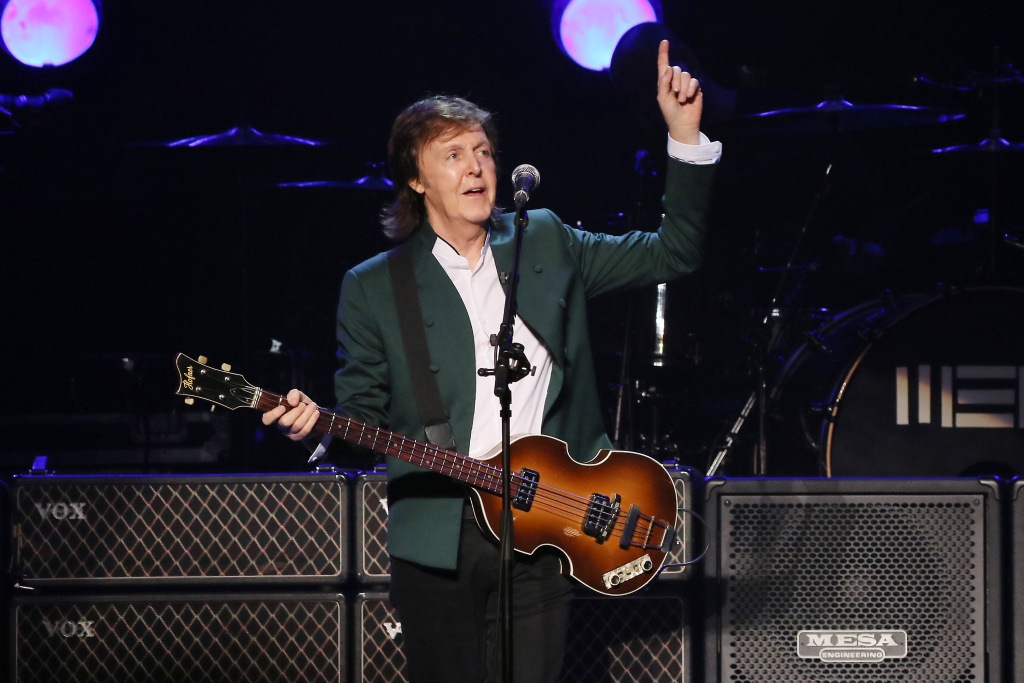 Paul McCartney will be joined by The Rolling Stones, Bob Dylan, The Who, Roger Waters and Neil Young at a three-day festival in Indio, CA this October.