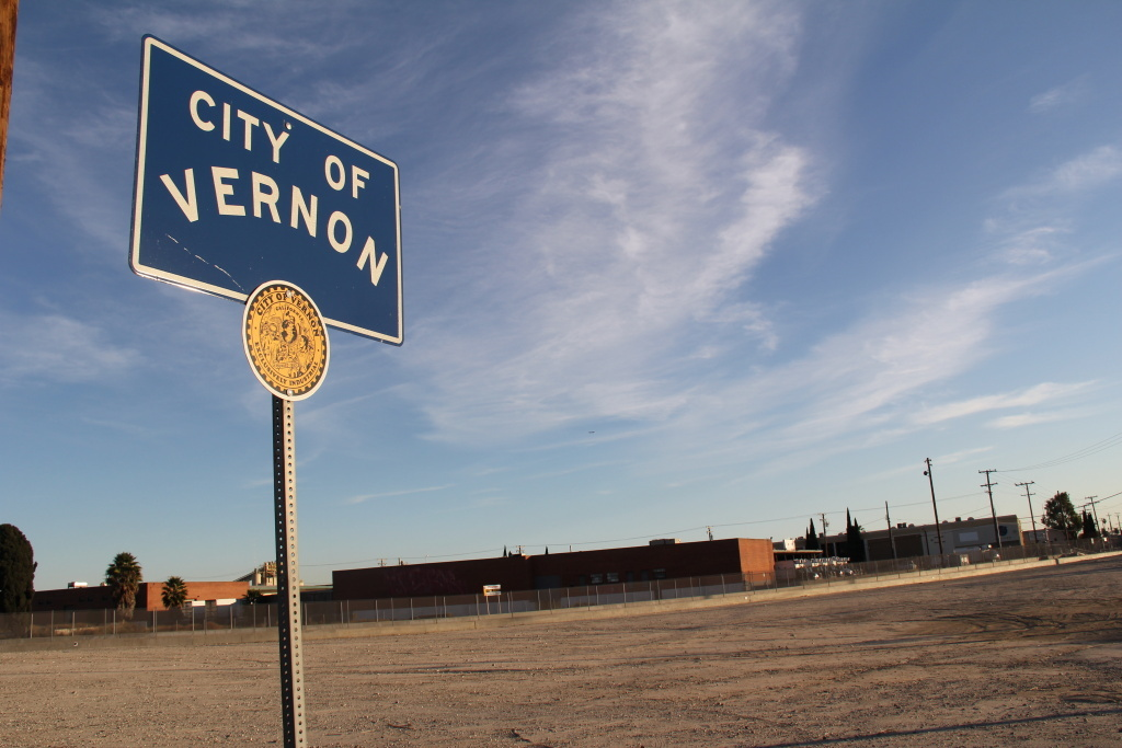 Vernon is an industrial hub with twice as many city employees as residents.