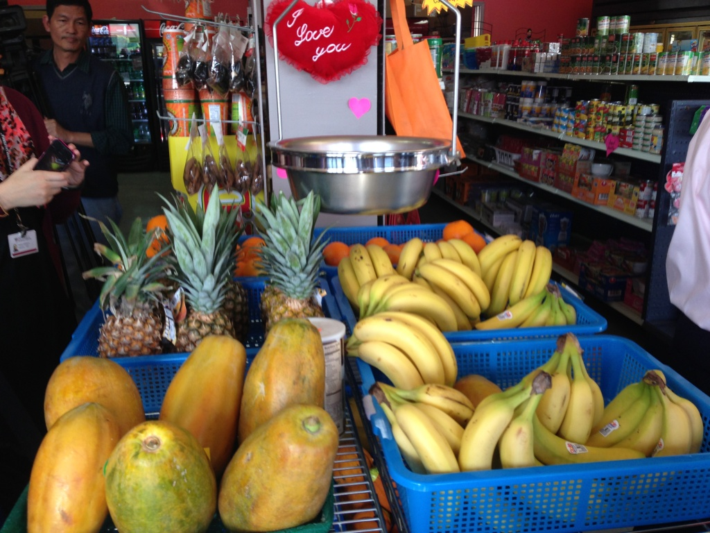 The Euclid Market in Boyle Heights puts fresh fruit front and center. Health officials say they want more store owners to pay attention to where they place healthy and unhealthy products in their markets - and to how they advertise those products.