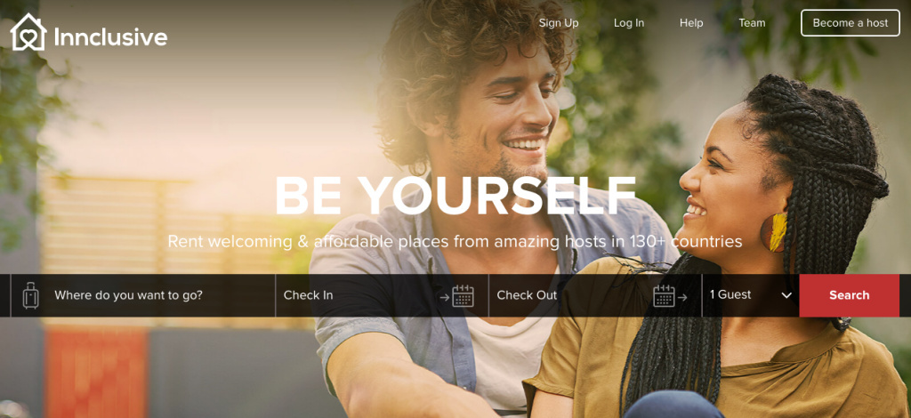 Innclusive is an Airbnb-like platform created as a result of digital discrimination claims on Airbnb.