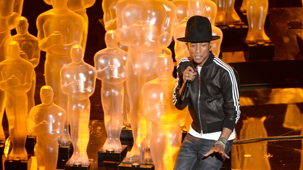 Is there anyone who can resist dancing when Pharrell Williams sings