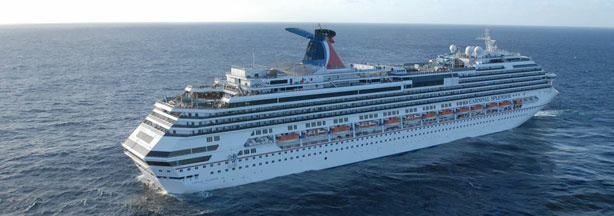 In this photo provided by the U.S. Navy, Carnival cruise ship C/V Splendor sits November 9, 2010 off the coast of California.