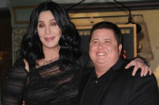 Singer and actress Cher, poses with her son Chaz Bono after he underwent gender reassignment surgery. Bono's transition is chronicled in a documentary called,