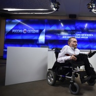 RUSSIA-SCIENCE-HEALTH-DISABLED