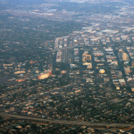 View of downtown Fresno, California.