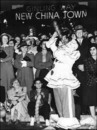 The late Larry Harmon didn't invent Bozo the Clown. The International Clown Museum credits Alan Livingston with creating Bozo in 1946. Harmon bought the rights to the name in the 1950s. But the caption for this image from the LA Public Library's online photo archive shows