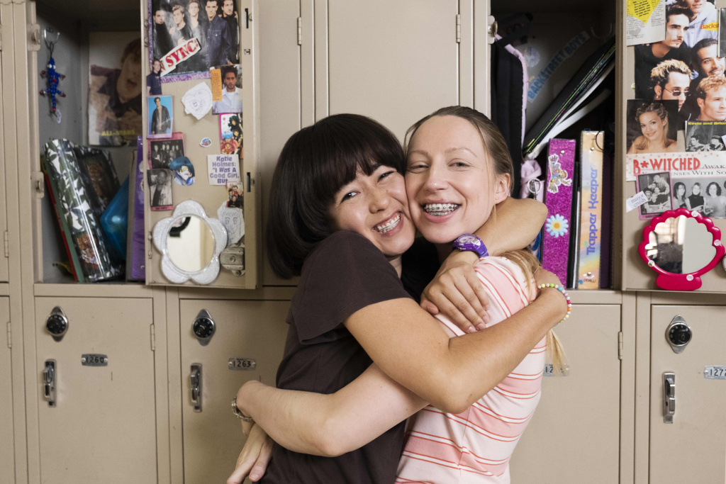 Maya Erskine (L) and Anna Konkle are the co-creators and co-stars of the Hulu series,