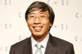 Oct. 29, 2009-Dr. Patrick Soon-Shiong smiles during an announcement in Los Angeles. Magic Johnson sold his small ownership stake in the Los Angeles Lakers to Soon-Shion on Monday, Oct. 18, 2010.