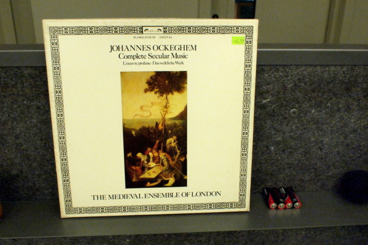 Album of the week Johannes Ockeghem's Complete Secular Music