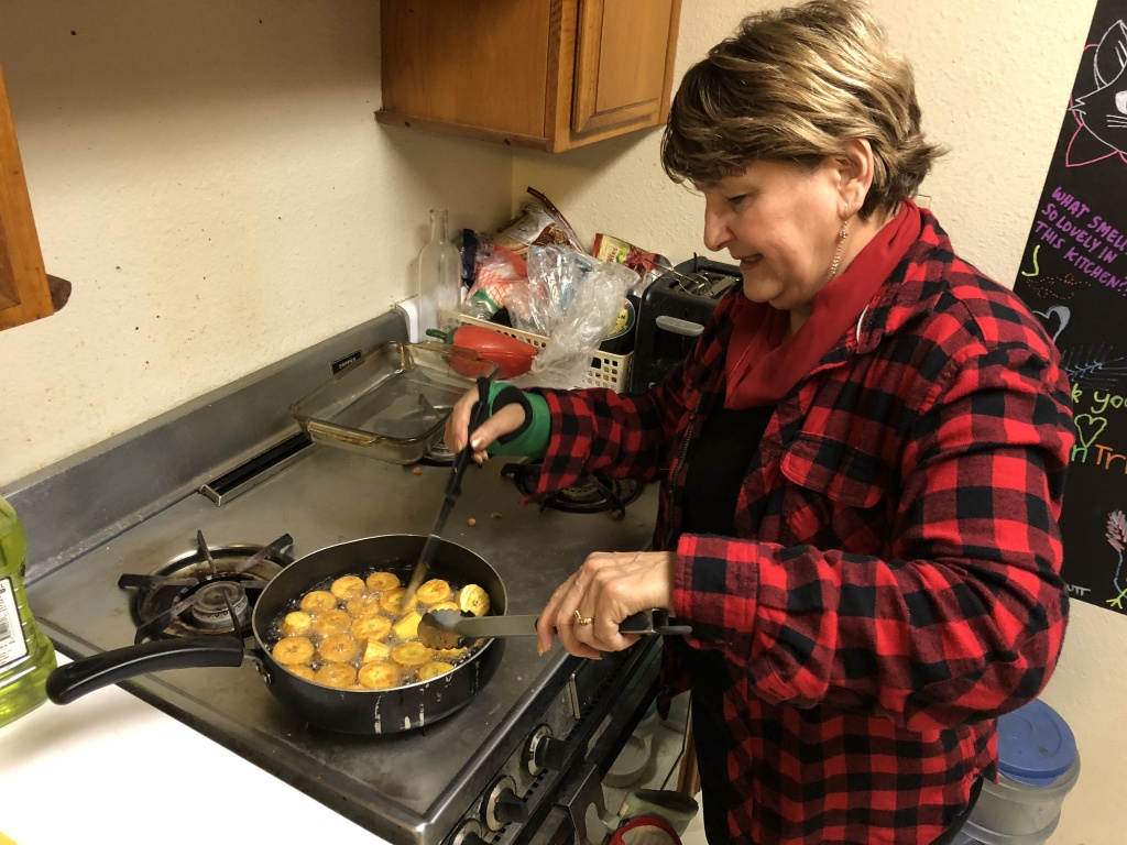 Ruth Galarreta cooks Tacacho, a Peruvian dish from the Amazonian region of the country.