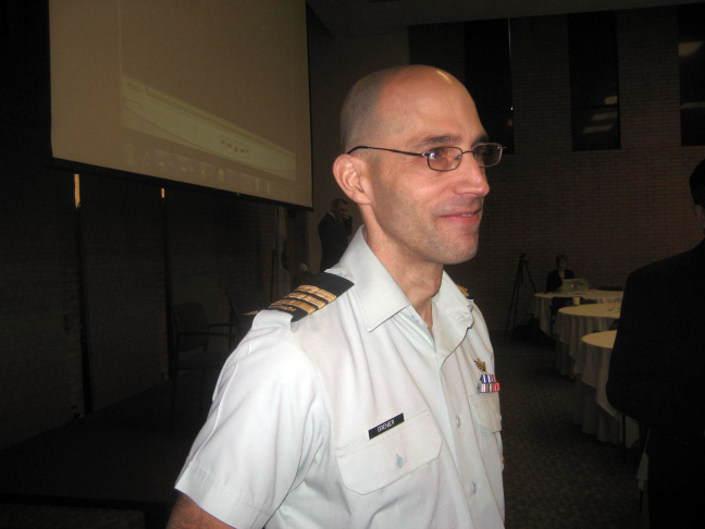 Canadian Forces Lieutenant Colonel Stephane Grenier