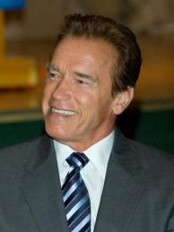 California Governor Arnold Schwarzenegger.