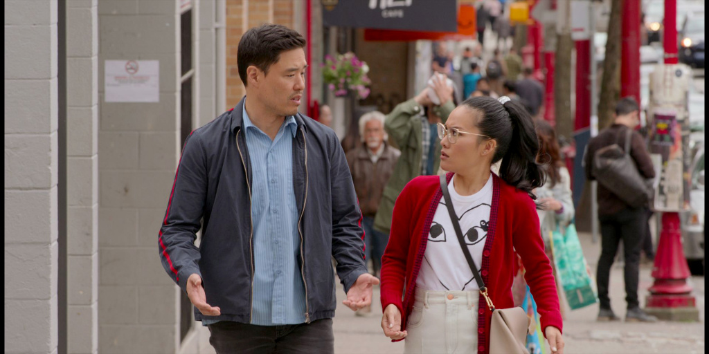 Randall Park and Ali Wong star in