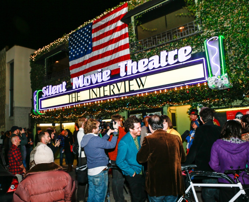 Cinefamily, along with Santa Fe's Jon Cocteau Cinema, was one of the independent theaters that showed The Interview on Christmas.
