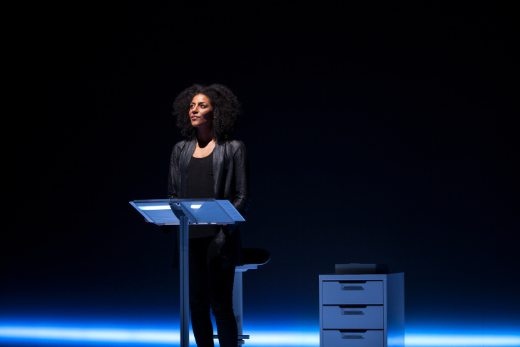 Playwright and performer Sarah Jones in