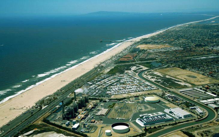Proposed Huntington Beach desalination plant