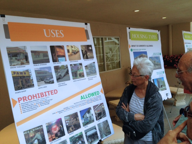 Frogtown residents weigh in on proposed zoning changes at a hearing held by city planners.