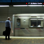 Red Line at 7th Street/Metro Center.