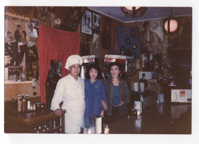 Nancy Sekizawa ran the Atomic Cafe for her parents during the '70 and '80s and turned it into the place for top punk bands to hang out.