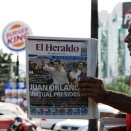 HONDURAS-ELECTION-AFTERMATH