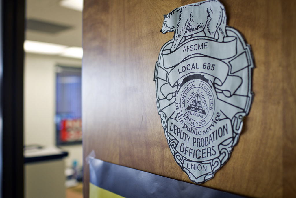 The offices for Deputy Probation Officers Union AFSCME Local 685 are located in downtown.