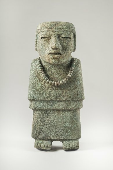 Standing Figure, Tlalocan [tunnel under Feathered Serpent Pyramid], Teotihuacan, Mexico, 200–250