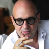 "The director of ""Fire At Sea,"" Gianfranco Rosi."