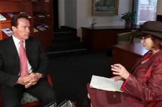 KPCC's Patt Morrison interviews outgoing governor Arnold Schwarzenegger