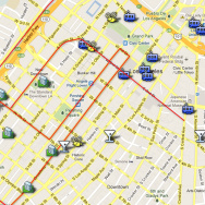 blogdowntown screen shot of downtown LA map