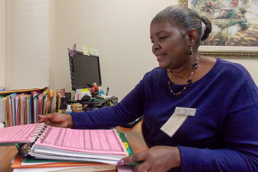 """Stonebrook Healthcare Center Social Services Director Shirley Jackson said having the POLST forms available electronically would make it much easier for everyone. """"It's almost like a driver's license for the end of your life,"""" she said. """"It's important."""""""