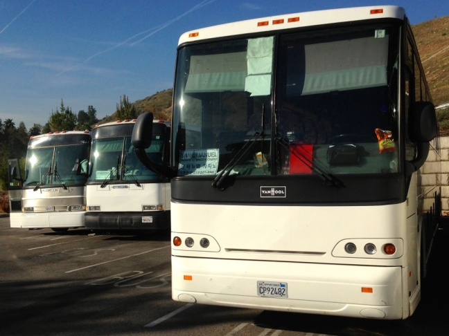 The bus was en route to San Manuel Indian Bingo and Casino in Highland. More than 50 were injured when a charter bus overturned on the 210 East in Irwindale on Thursday morning, Aug. 22.