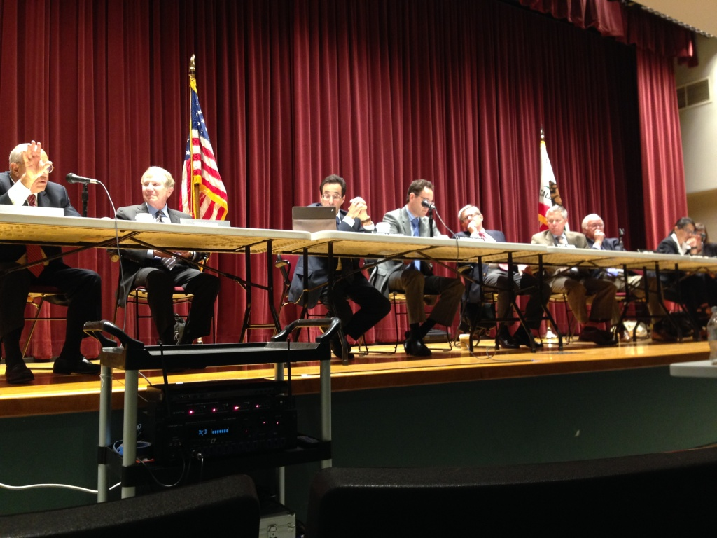 Little Hoover Commission hears testimony at hearing in Los Angeles on Thursday, Sept. 26, 2013.