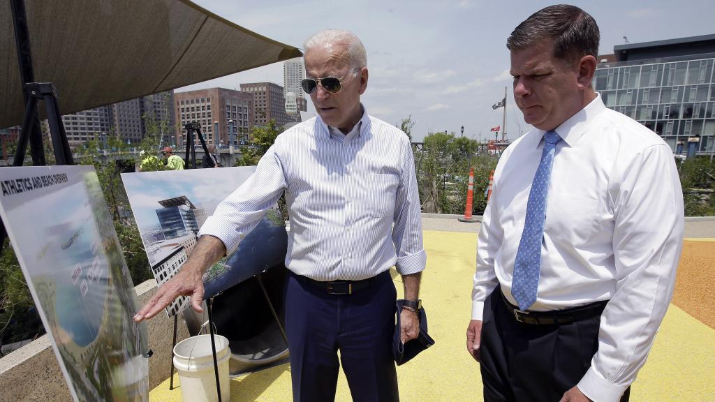 President-elect Joe Biden is tapping Boston Mayor Marty Walsh to be his labor secretary.