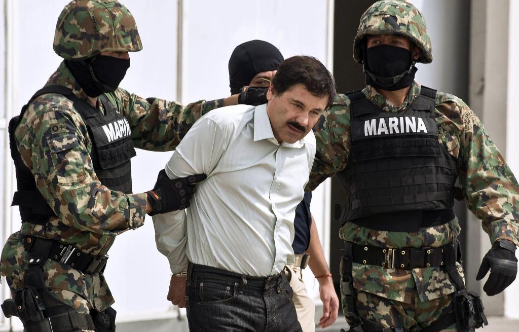 Mexican drug trafficker Joaquin Guzman Loera aka