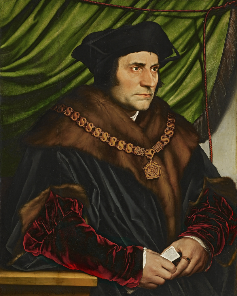 Sir Thomas More, in happier days.