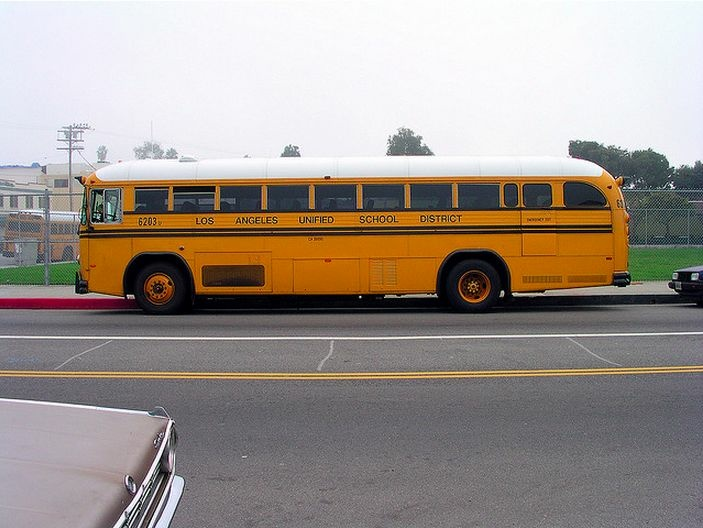 LAUSD buses will be running again Tuesday when the school year begins.