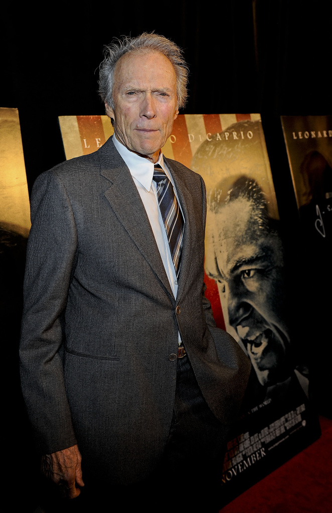Clint Eastwood attends the Washington D.C. premier of