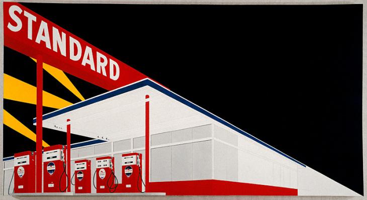Standard Station, Amarillo Texas, 1963, Ed Ruscha