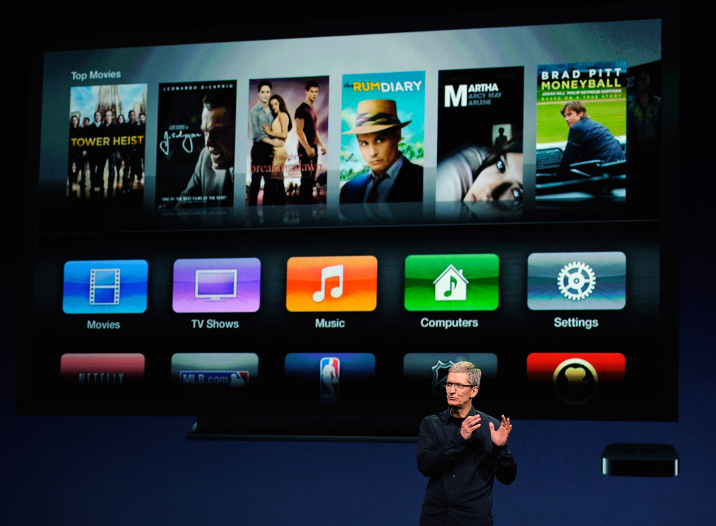 Apple CEO Tim Cook. The company could launch an online TV service this fall to compete with cable and satellite providers.