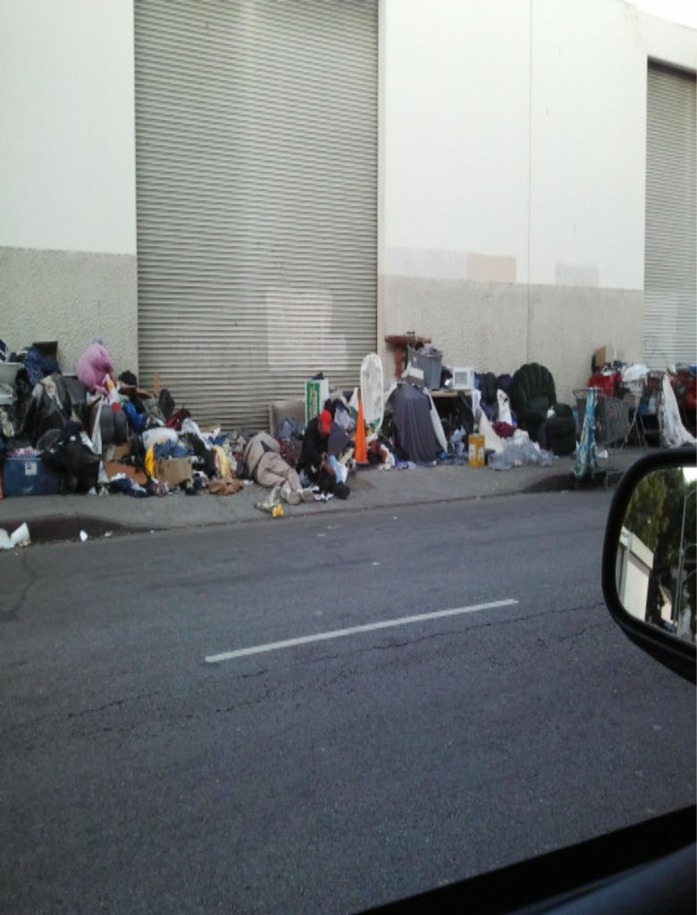City officials say the trash problem on LA's Skid Row has gotten out of hand. A massive cleanup is now underway.
