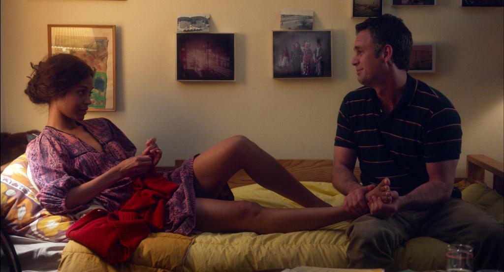 Mark Ruffalo and Zoe Saldana in