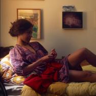 """Mark Ruffalo and Zoe Saldana in """"Infinitely Polar Bear"""""""