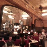 Balthazar restaurant, in SoHo, New York City