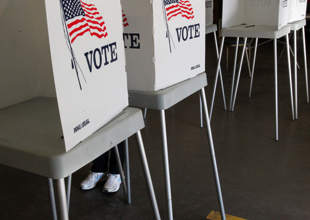 FILE: Besides choosing candidates in a rash of primary contests, Californians will also be voting on five state propositions on the June 5 ballot.