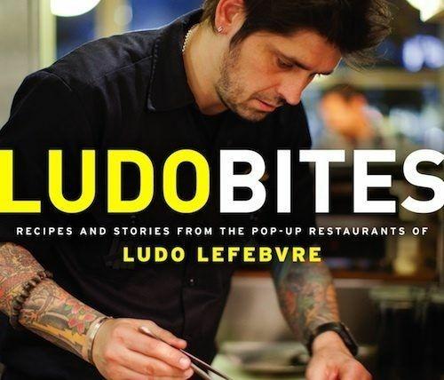 Ludo Lerebvre's Ludo Bites cookbook